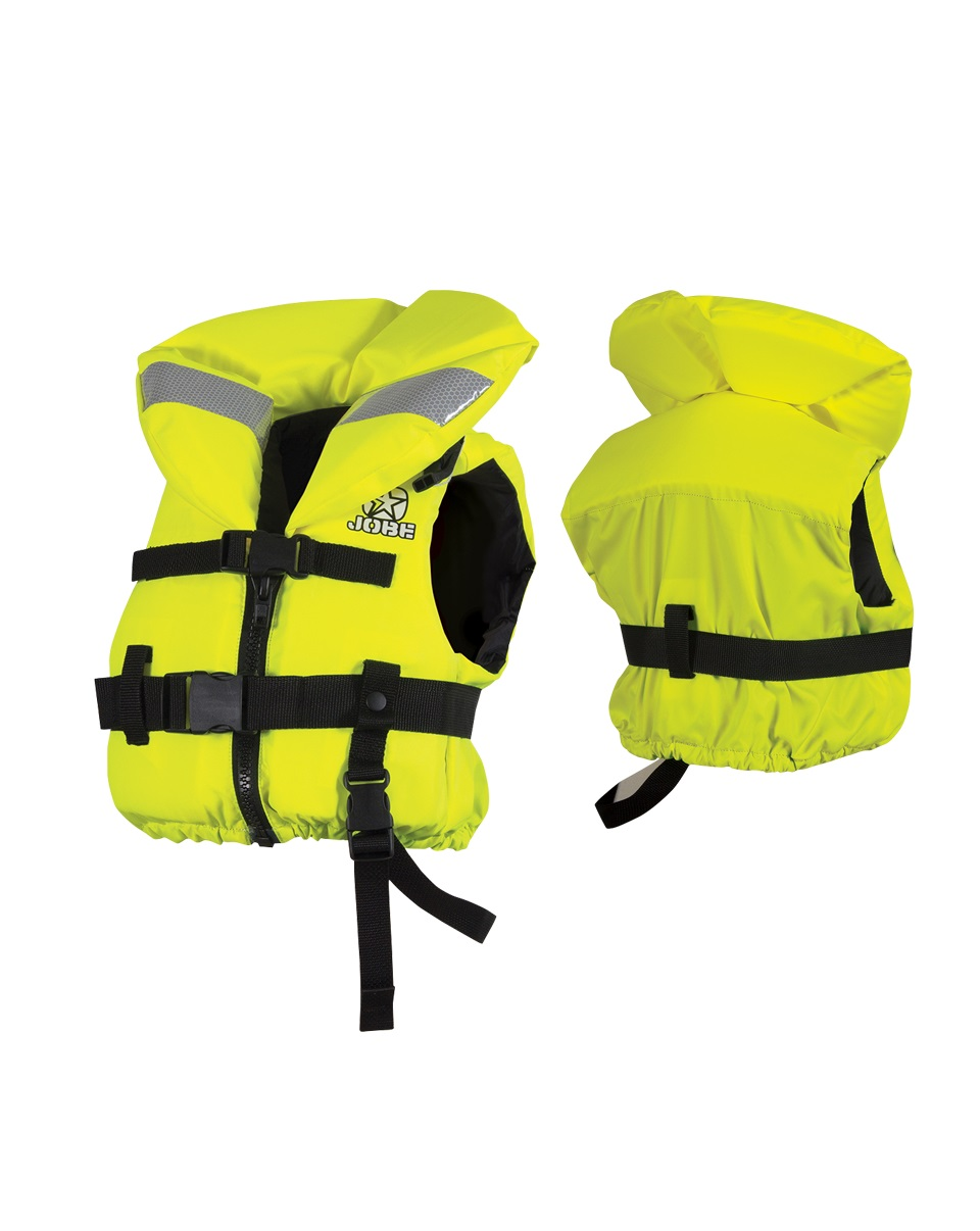 Страховочный жилет Jobe Comfort Boat Vest Youth Yellow ISO 240212005-M-L