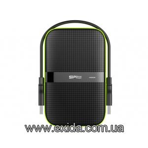 Жесткий диск SILICON POWER Armor A60 500 GB USB 3.0 Black (SP500GBPHDA60S3K) 6165930