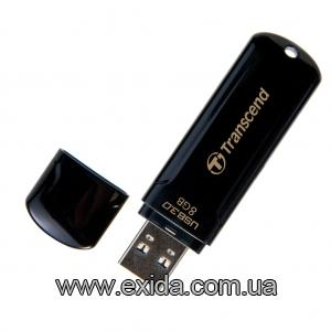 TRANSCEND JetFlash 700 8 GB USB 3.0 Black (TS8GJF700) 5818907