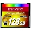 Карта памяти CF TRANSCEND Compact Flash 128 GB (1000X)
